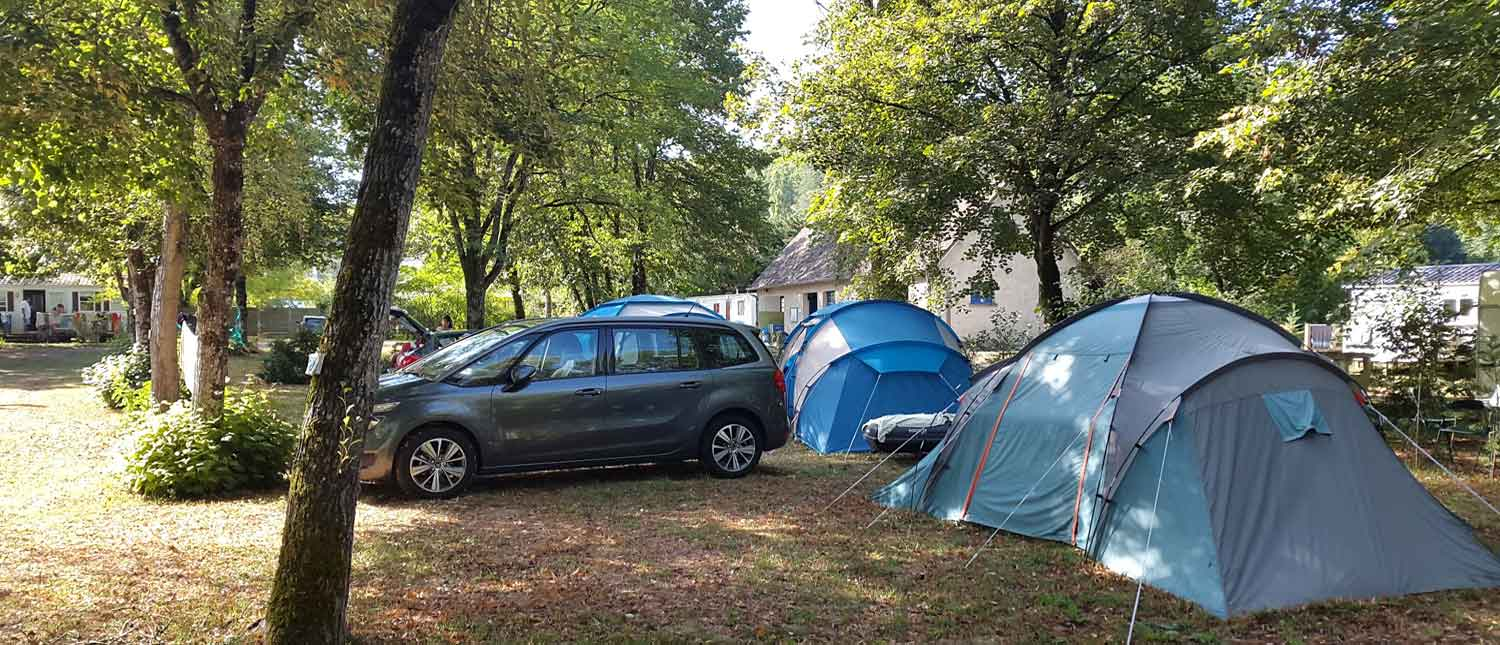 emplacement camping lot